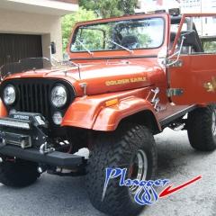 Jeep CJ7 6,6Liter V8 Quadra, Automatik